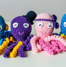Octopi and Preemies:  How Crafting Saves Lives